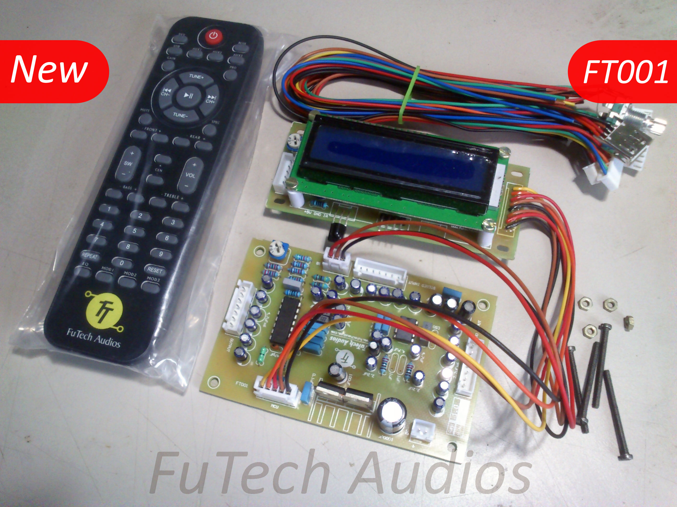 diy audio amplifier kit india